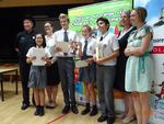 Harrow School Team 2, winners of the 2015 Hong Kong National Final