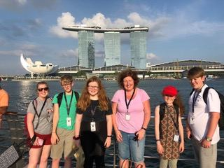 Enniskillen Royal Grammar School in Singapore