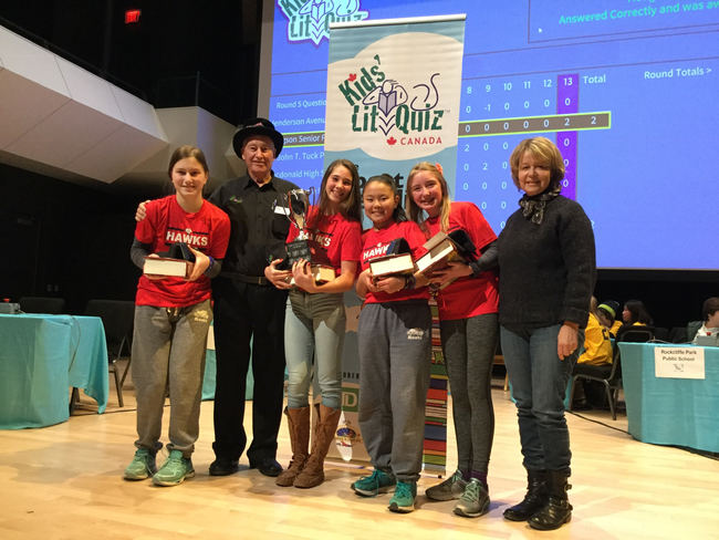 Hodgson Middle School, winners of the 2019 KLQ Canada National Final