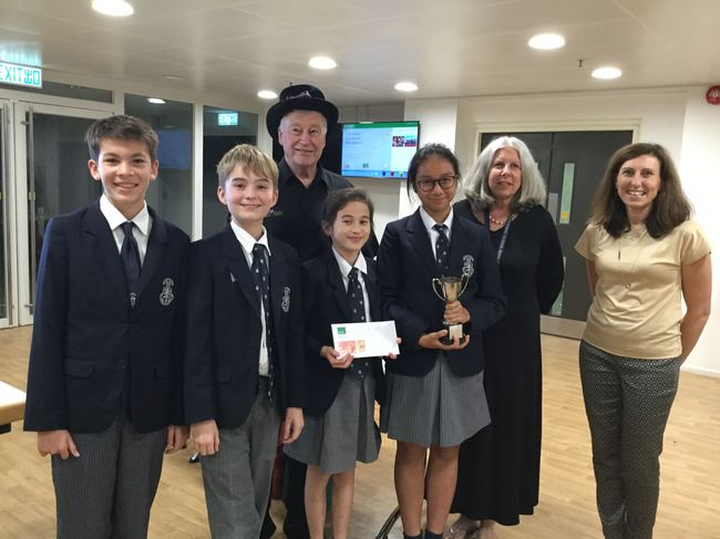 Harrow International School (Team 3), winners of the 2018-19 Hong Kong National Final
