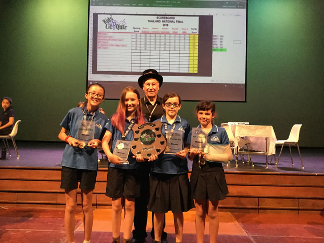 NIST International School (Team 3), winners of the 2018-19 Thailand National Final