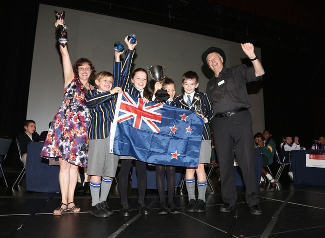 Southwell School (NZ), winners of the 2015 World Final
