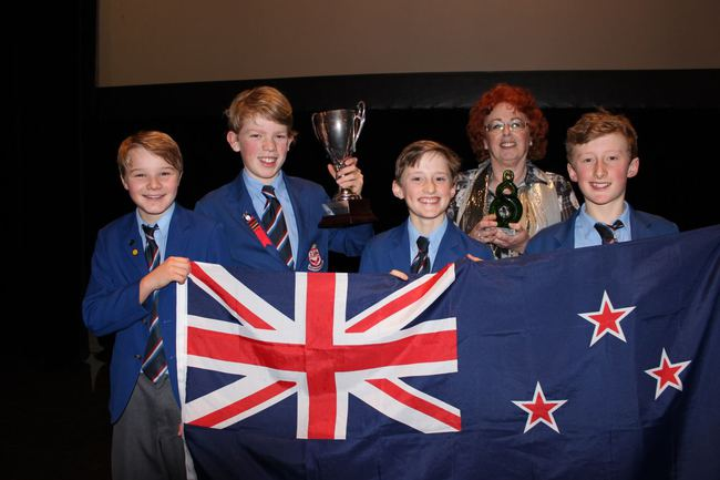 Wellesley School (NZ), winners of the 2016 World Final